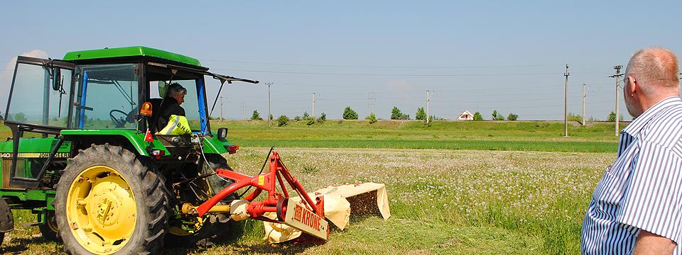 Tractor op het land